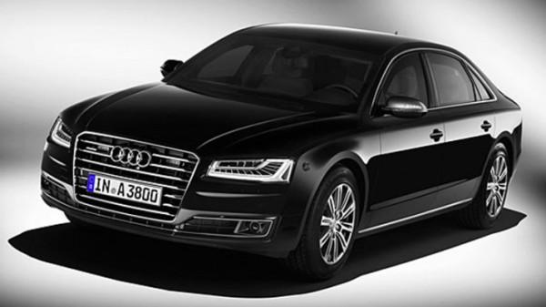 Audi A8L Security, бронированный седан