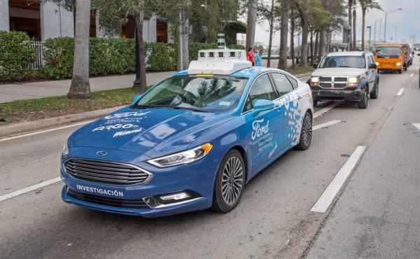 Ford, автономное авто
