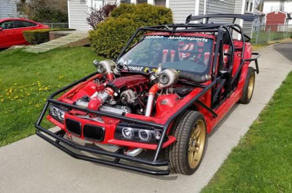 BMW 3-Series, тюнинг, 1000-сильный двигатель