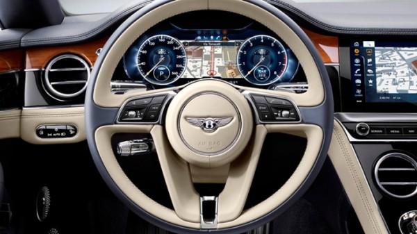 Bentley, выдвигающийся руль