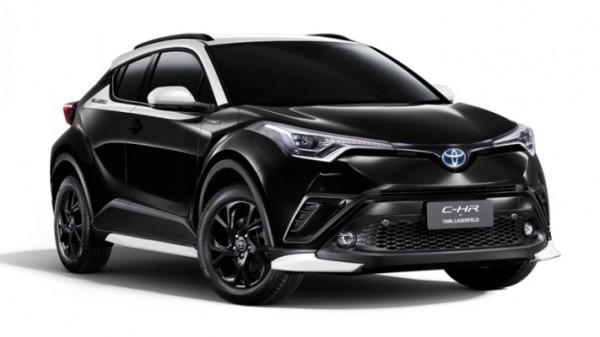 Toyota C-HR, кроссовер