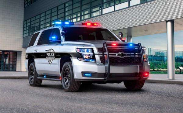 Chevrolet Tahoe, полицейский