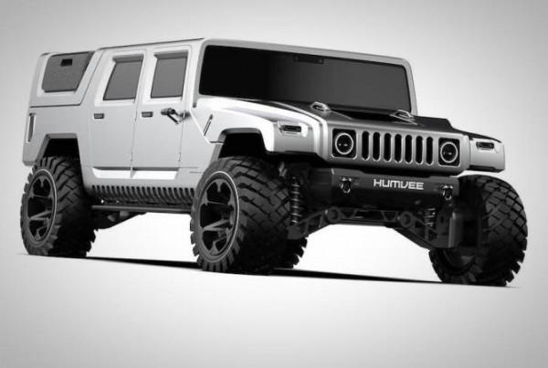 Hummer H1, дизайн