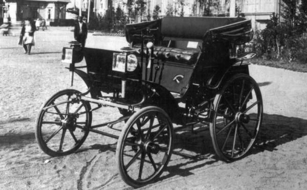 Фрезе, российский автомобиль, ретро-кар