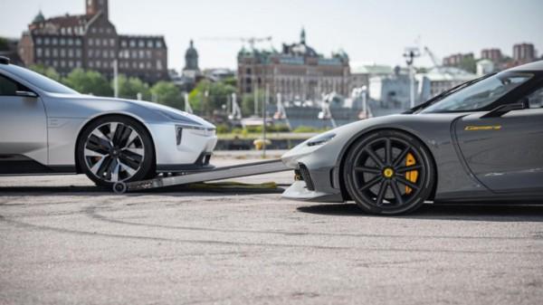 Koenigsegg и Polestar