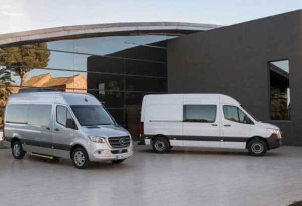 Mercedes-Benz Sprinter, фургон, дизель