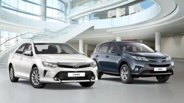 Toyota, модели, сервис