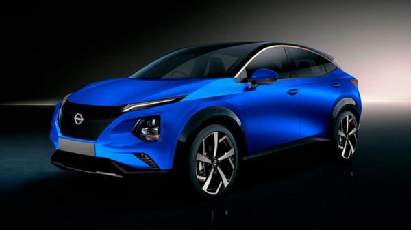Nissan Ariya, серийный, рендер