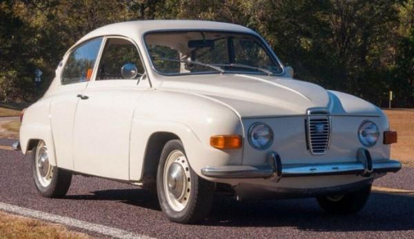 Saab, переделан в электрокар