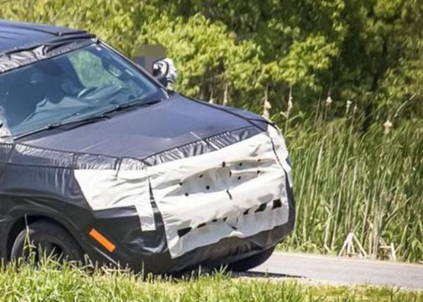 Jeep Grand Wagoneer, тест, застрял
