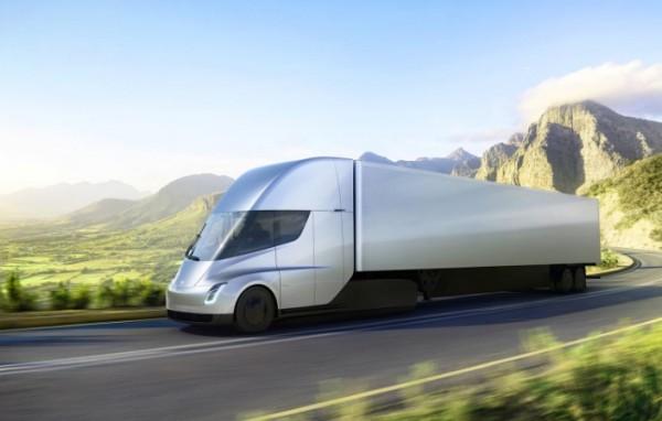 Tesla Semi, грузовик