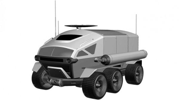 Toyota, луноход