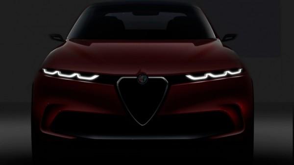 Alfa Romeo, компактный электрокроссовер