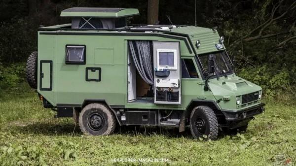 фургон Iveco 40.10, кемпер