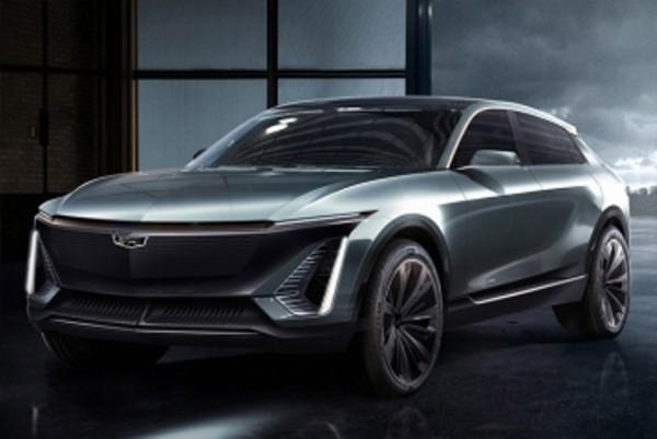 Cadillac Lyriq, новый электрический кроссовер