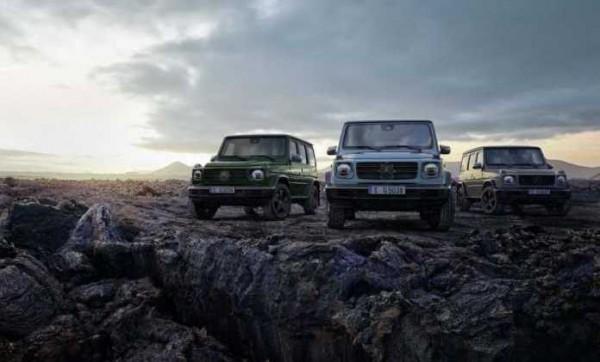 Mercedes-Вenz G-Class, внедорожники