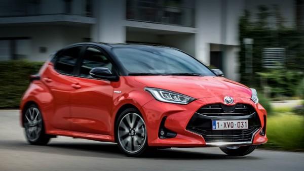 Toyota Yaris, хэтчбек для Европы