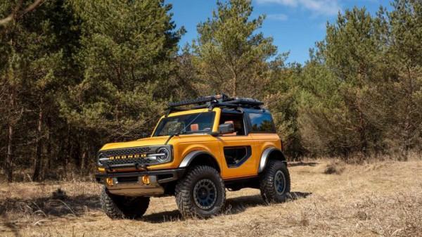 Ford Bronco, внедорожник, новый