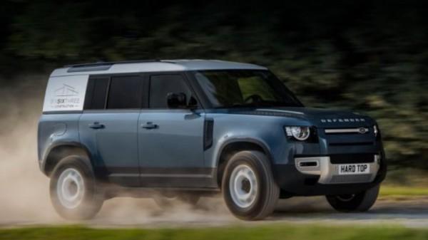 Land Rover Defender, электрокар