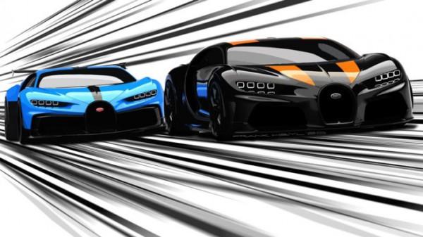 Chiron Pur Sport и Chiron Super Sport 300+