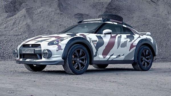 Nissan GT-R, суперкар
