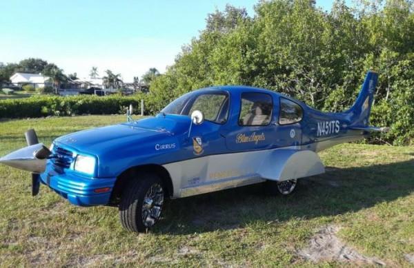 кароплан, гибрид, внедорожник Chevrolet Tracker, аэроплан