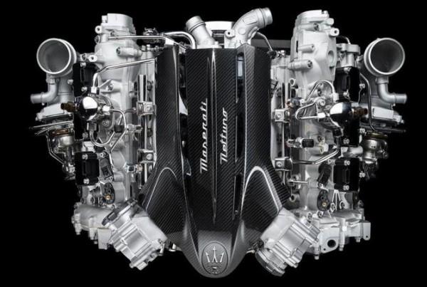 Maserati, турбодвигатель Twin-Turbo V6