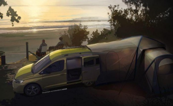 Volkswagen Caddy Mini-Camper