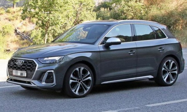 Audi SQ5, обновленный