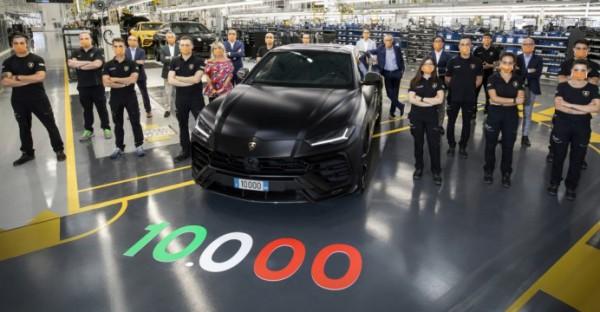 Lamborghini Urus, 10-тысячный