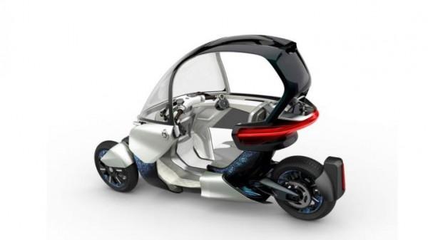 Yamaha, трехколесная модель