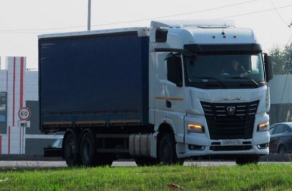 КамАЗ, бортовой грузовик 6x2