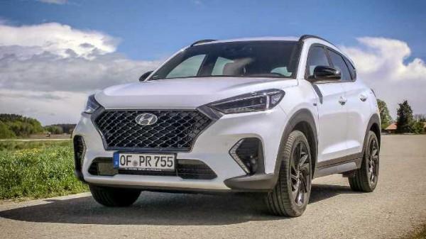 Hyundai Tucson 2020 года