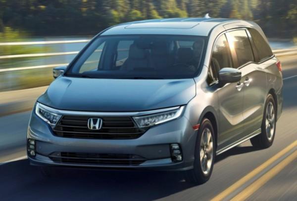 Honda Odyssey, минивэн, 2021 год