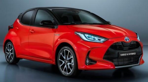 Toyota Yaris, хэтчбек, четвертого поколения