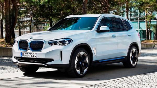 BMW iX3, внедорожник, электрический