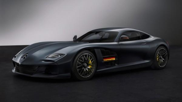 Mercedes SLR-AMG Concept Design