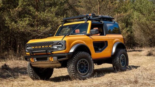 Ford Bronco, новый