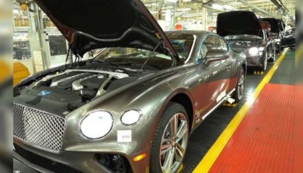 Bentley Continental GT, сборка