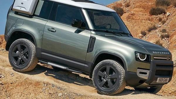 Land Rover Defender, трехдверный