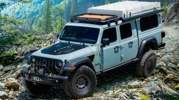 Jeep превратил пикап Gladiator в кемпер с дизельным агрегатом