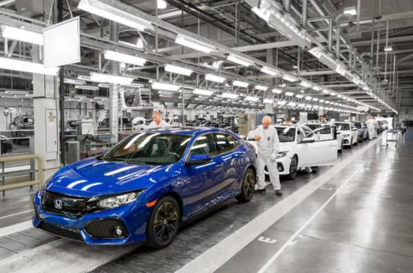 Honda, завод, производство