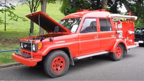 Toyota Land Cruiser, пожарный