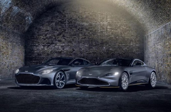 007 Aston Martin Vantage и 007 Aston Martin DBS Superleggera