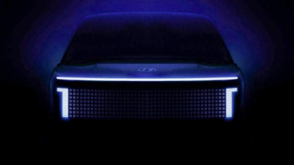 Hyundai Ioniq 7, большой кроссовер, тизер