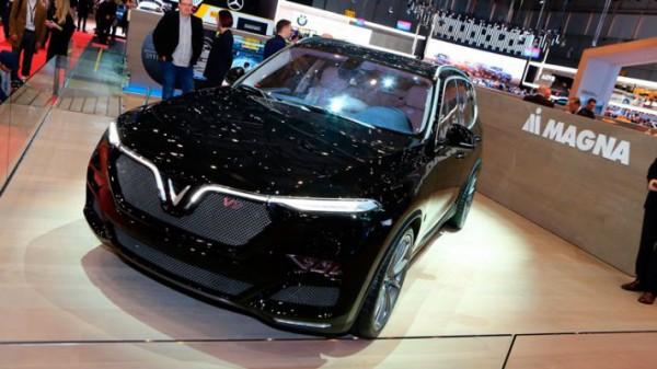 VinFast, кроссовер, на базе BMW X5