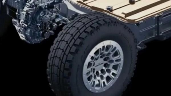 GMC Hummer 2022, электрический грузовик
