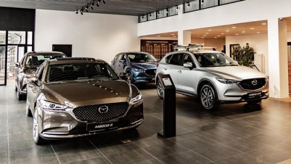 Mazda, три модели