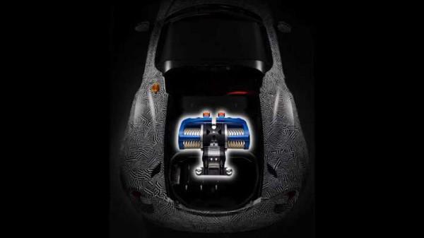 Yamaha, электрокар, Alfa Romeo 4C Spider