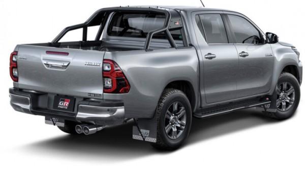 Toyota Hilux, первый тюнинг